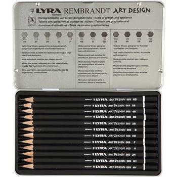 Set de dibujo ART Design - 12 unidades