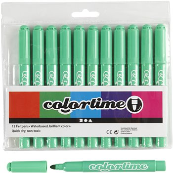 Colortime rotuladores - 12 unidades