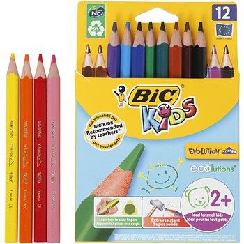 Lápices de colores Evolution  - 12 unidades