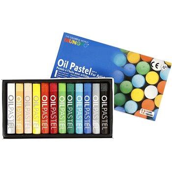 Mungyo Gallery Oil Pastel - 12 unidades