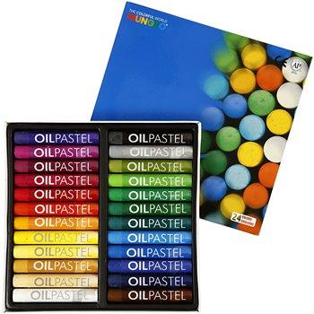 Mungyo Gallery Oil Pastel - 24 unidades