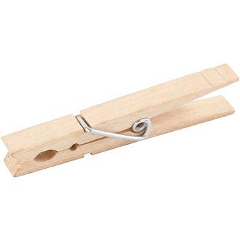 Pinza de madera - 150 unidades