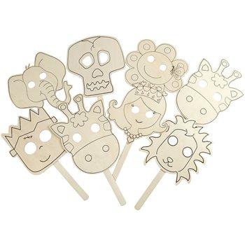 Máscaras - 16 unidades