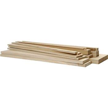 Partes de madera - 194 unidades