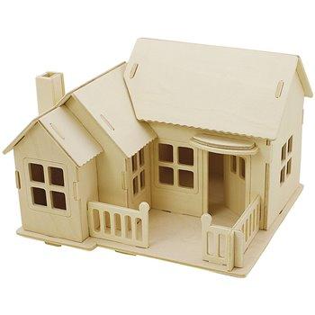 Kit de construcción 3D de madera