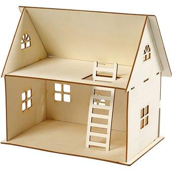 Construcción casa de muñeca