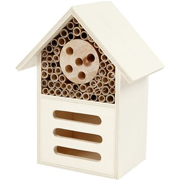 Hotel para insectos y mariposas