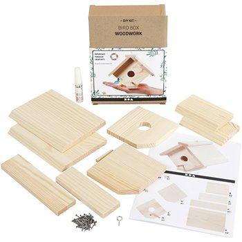 Casa de pájaro - 1 paquetes