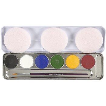 Pintura facial a base de agua - 6 color