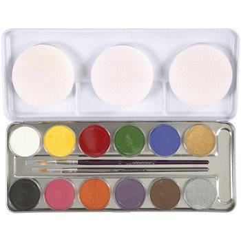 Pintura facial a base de agua - 12 color