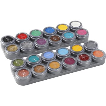 pintura facial en base a agua - 24x2,5 ml