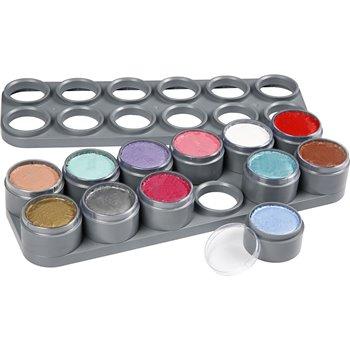 Paleta de pintura facial a base de agua - 12x15 ml