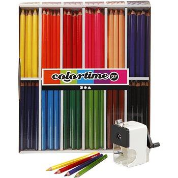 Lápices de colores Colortime - 1 set