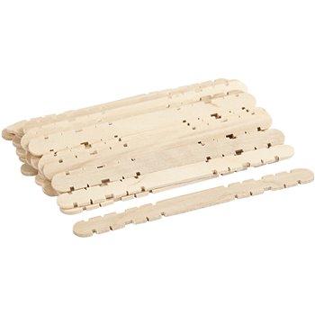 Palos de construcción de madera - 30 unidades