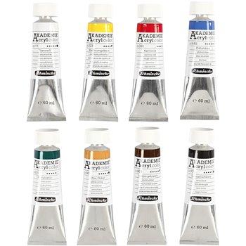 Color acrílico Schmincke AKADEMIE® - 8x60 ml
