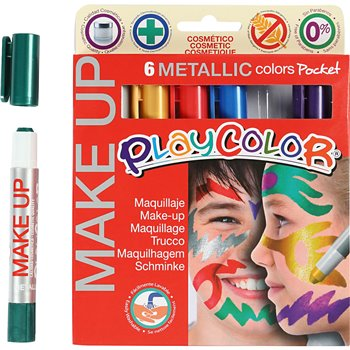 Maquillaje Playcolor - 6x5 gr