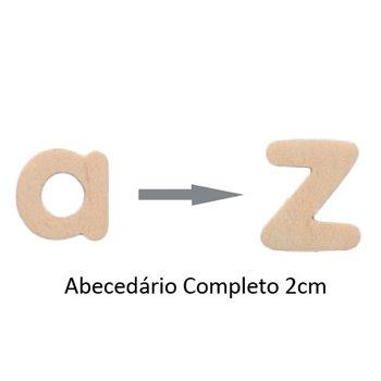 ABECEDARIO MADEIRA 2CM/12