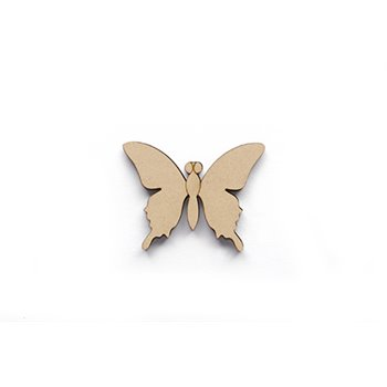 SET 6 MARIPOSAS 8X6.2X0.5CM DM