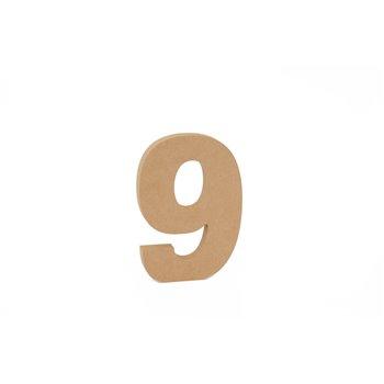 SET 3 NUMEROS 9 15X1.6CM DM