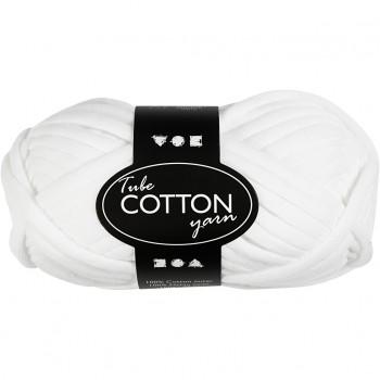 Lana tubular de algodón