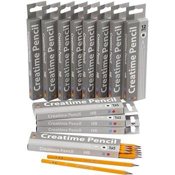 Lápices escolares - 12x12 unidades