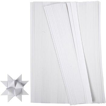 Tiras de papel para estrellas - 500 tiras