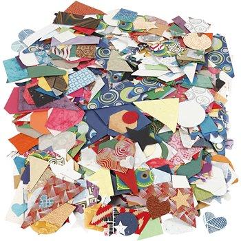 Die-cuts de  papeles hechos a mano - 500 gr