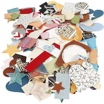 Die-cuts de  papeles hechos a mano - 100 gr