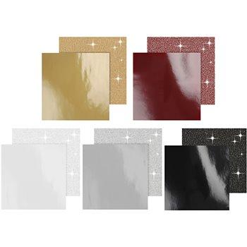 Papel estampado - 5x10 paquetes