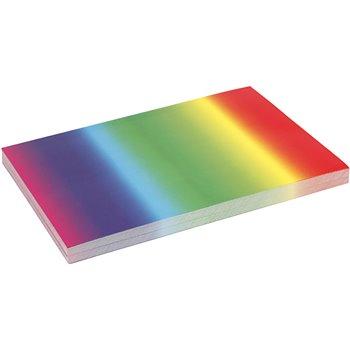 Cartulina arcoiris - 100 hoja