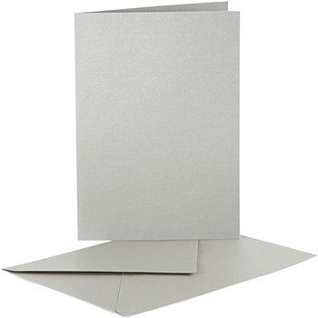 Postales y sobres perlados - 10 set