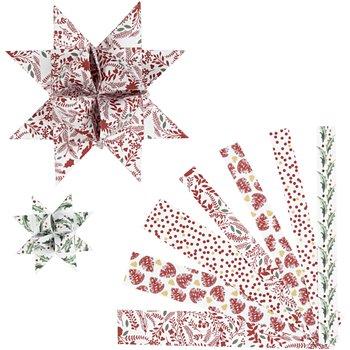 Tiras de papel para estrellas - 48 tiras