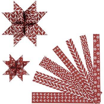 Tiras de papel para estrellas - 60 tiras