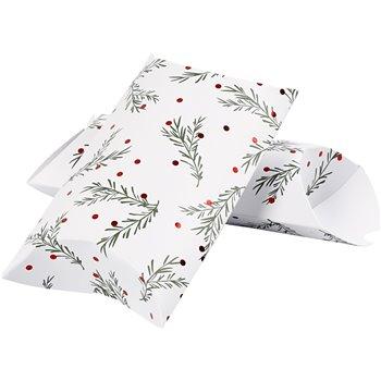 Caja en forma de almohada - 3 unidades