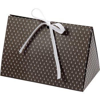 Caja de regalo plegable - 3 unidades