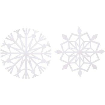 Copos de nieve - 16 unidades