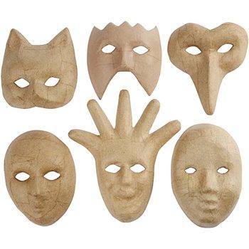 Máscaras medida media - 6 unidades