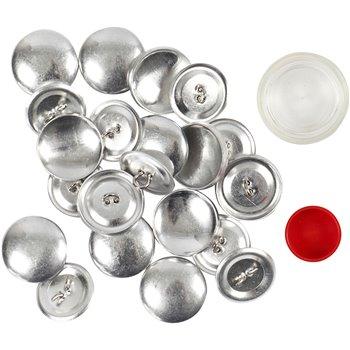 Fundas para botones - 12 unidades