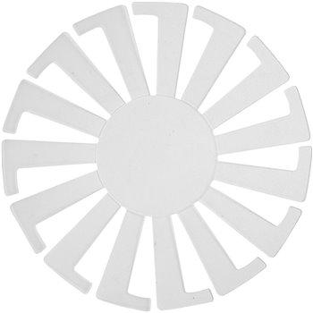 Plantilla para cesta tejida - 10 unidades