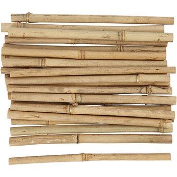 Palos de bambú - 30 unidades
