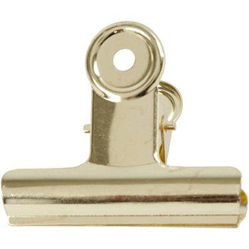 Clip de bulldog metálico - 6 unidades