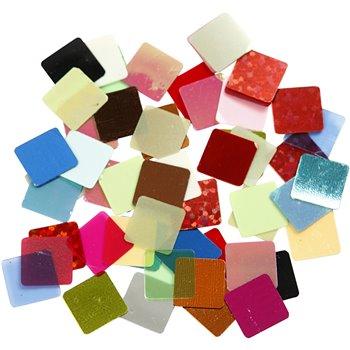 Piezas de mosaico cuadradas - 250 gr