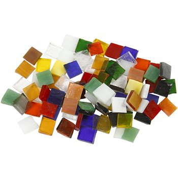 Teselas de cristal para mosaico - 454 gr