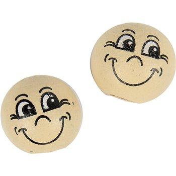Pelotas de cara sonriente - 20 unidades