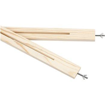Conjunto de tiras para marcos de madera multifuncionales - 2 unidades