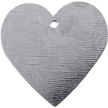 Corazón de metal - 15 unidades