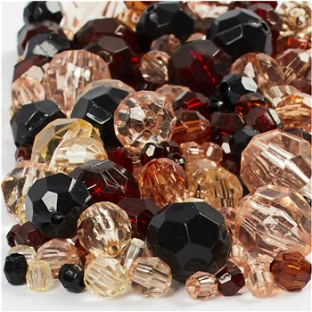 Faceted Bead Mix - 250 gr