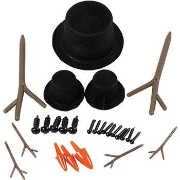 Sombreros, narices y ramas - 3 set