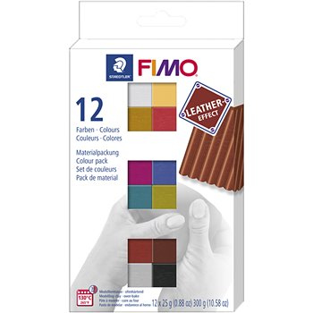FIMO® Leather Effect - 12x25 gr