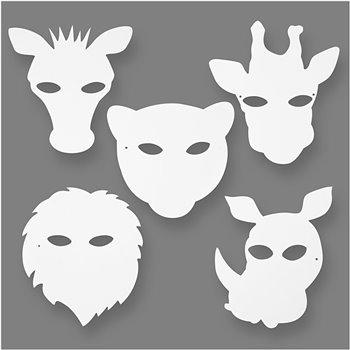Máscaras de la jungla - 16 unidades